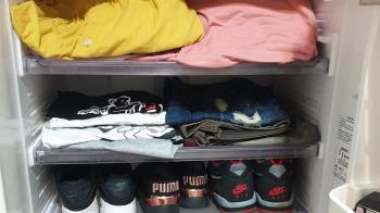 妻想要衣櫃!天兵尪回收場花1300挖到寶