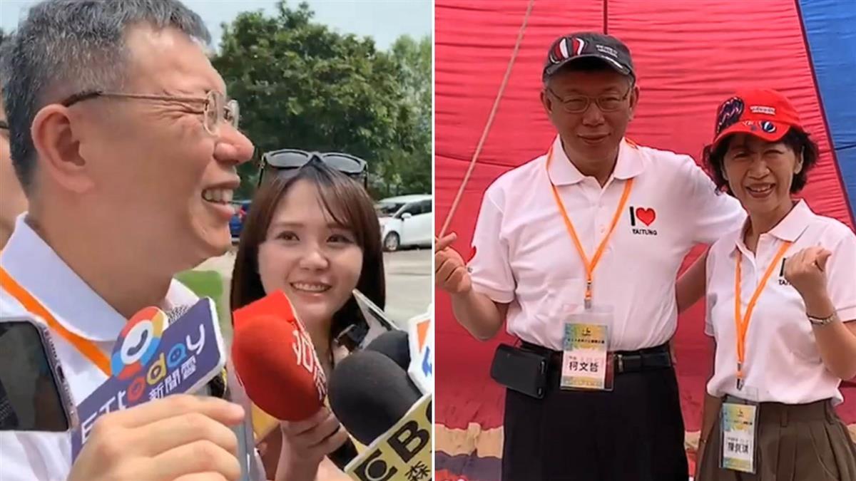 韓國瑜提熱氣球解決塞車 柯文哲:開什麼玩笑