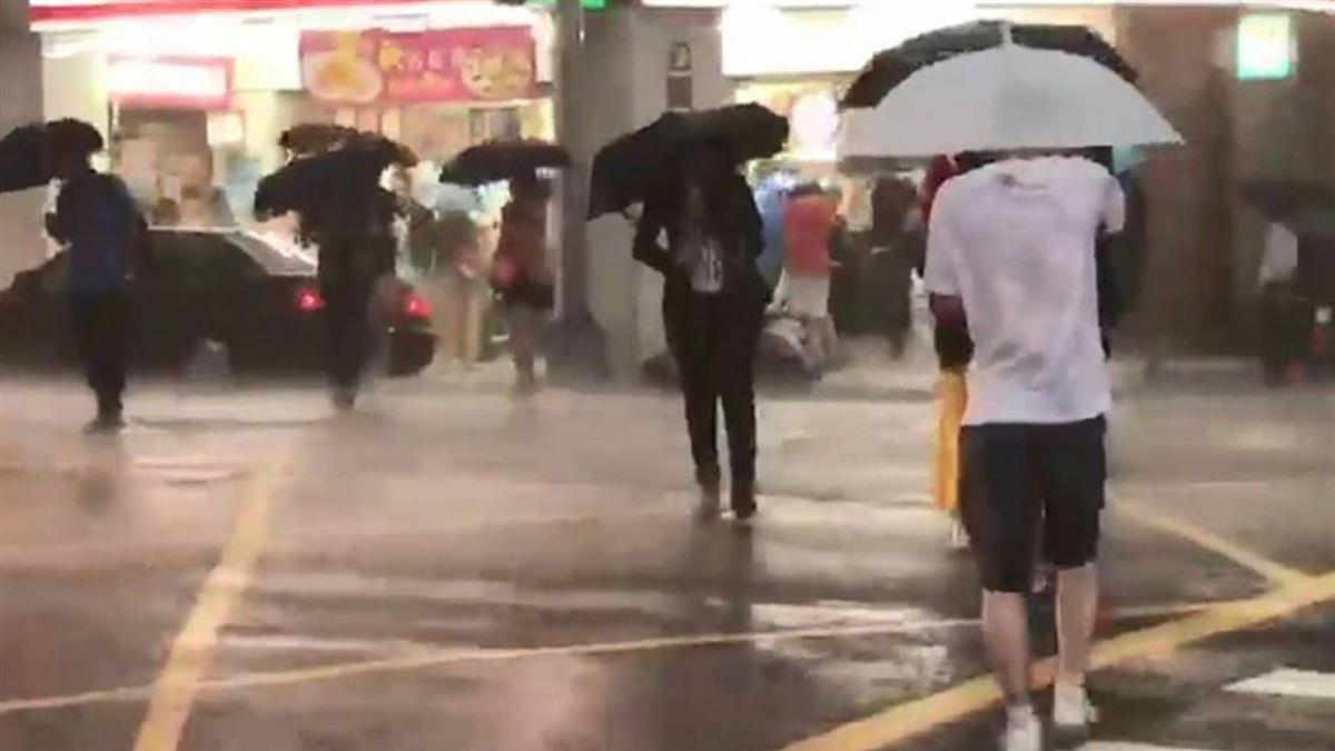 鋒面來了!入夜雨漸增 16縣市發布豪大雨特報