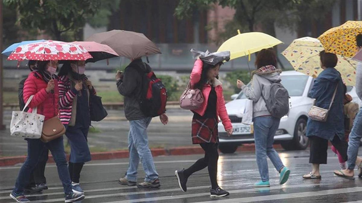 雨區又擴大!19縣市大雨特報 中部以北雨勢明顯