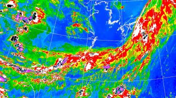 梅雨鋒面影響 台北等19縣市豪大雨特報