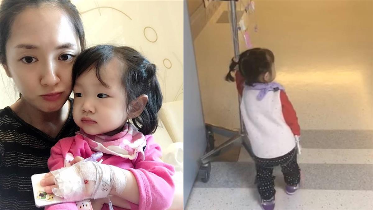 1歲女3度住院…睡氧氣罩 楊千霈心疼:沒特效藥