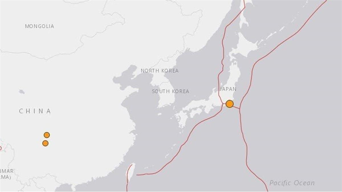 日本靜岡縣地震規模4.1  電視插播緊急速報