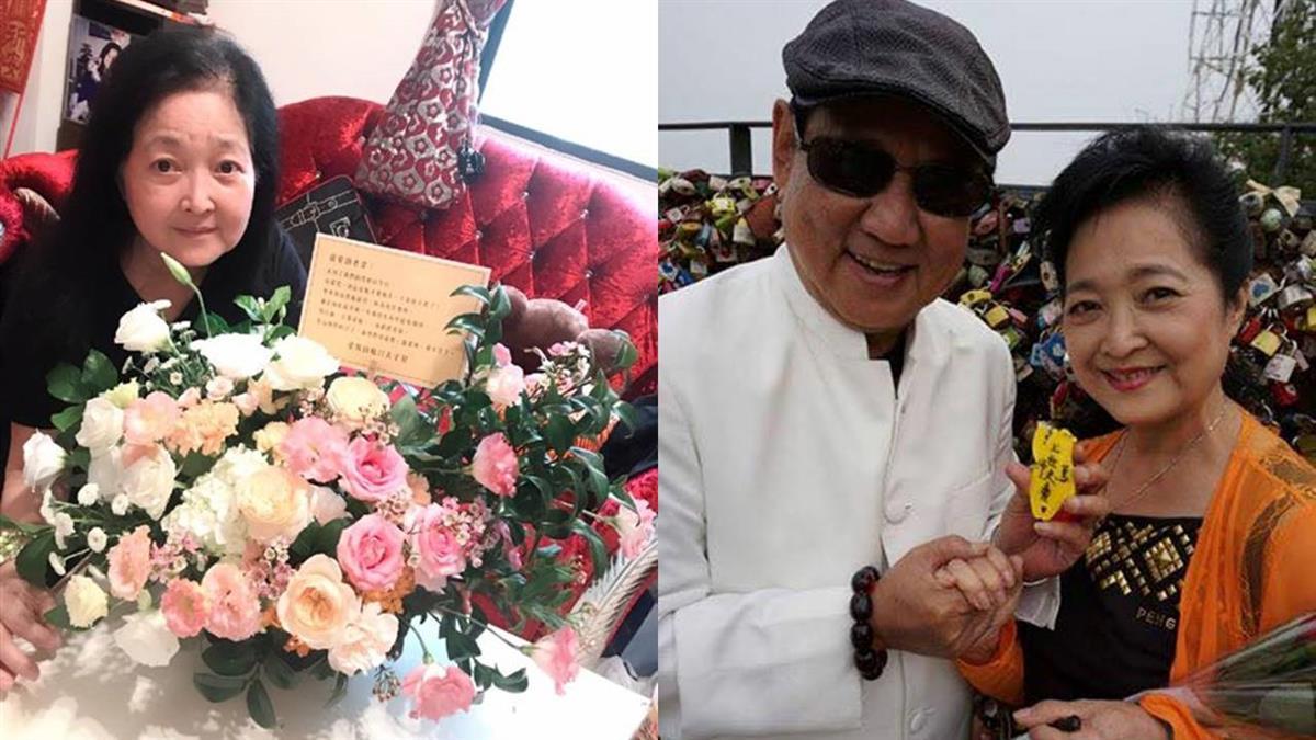 沛小嵐獨過39年結婚紀念日