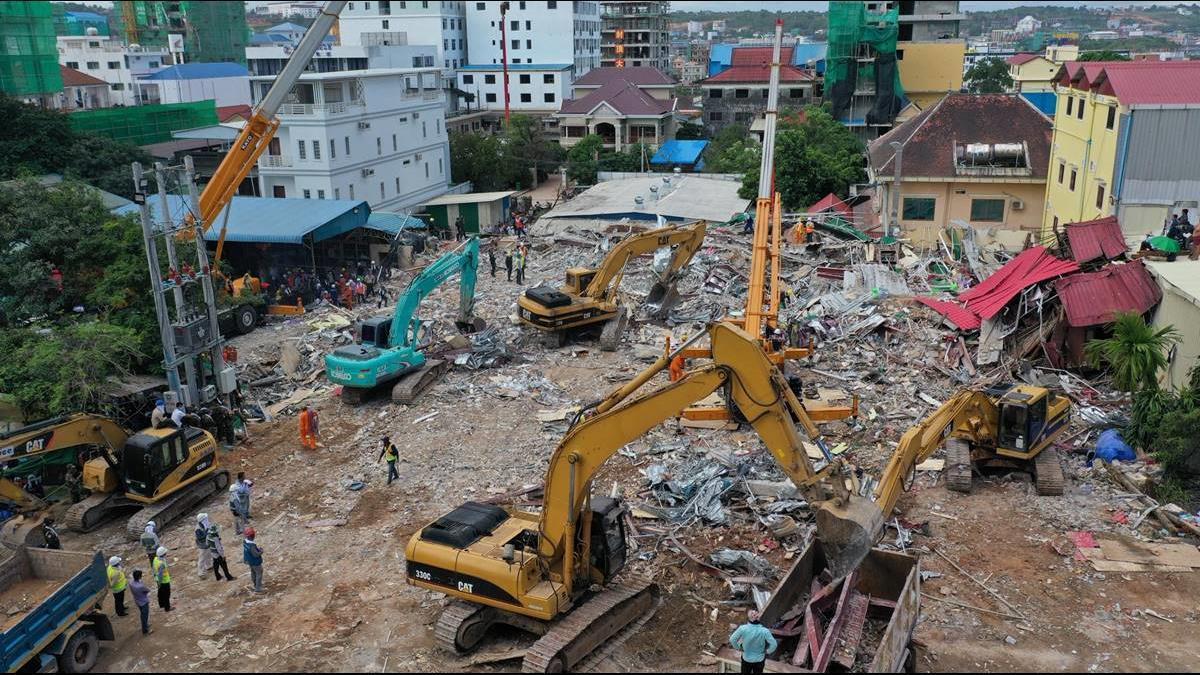 無視勒令停工釀28死!柬埔寨徹查陸資興建案