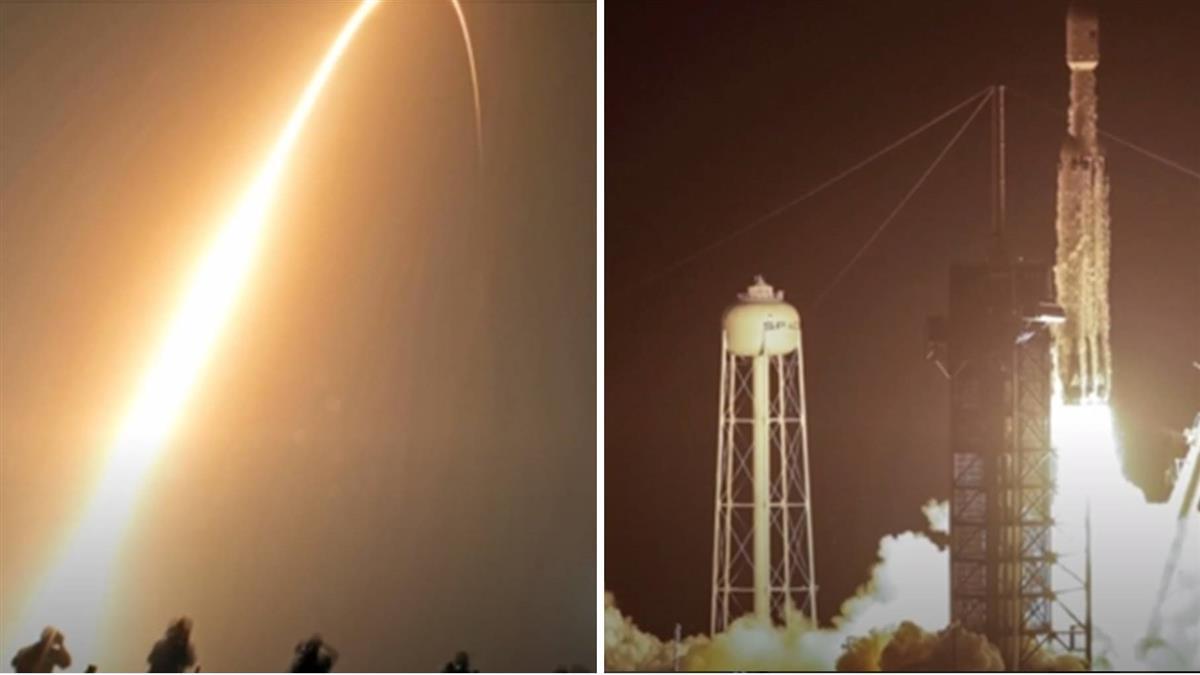載福衛七號等24枚衛星升空 SpaceX:史上最難任務