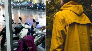 大雨順路載…暖男遞雨衣 阿婆神回玻璃心碎