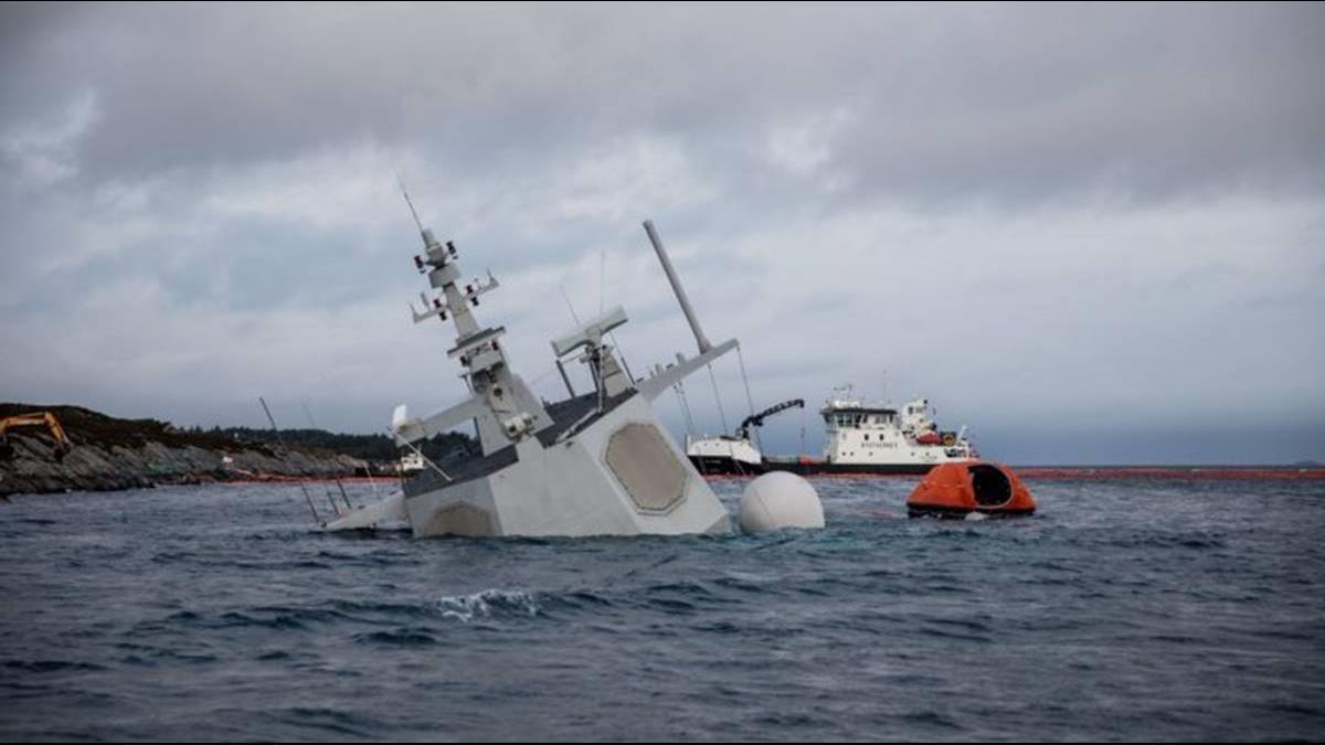 修復比買新的貴40億!挪威國防部要報廢護衛艦