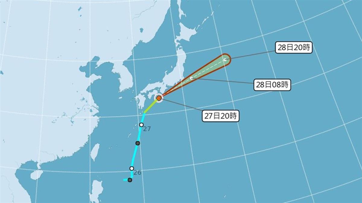 今年第3號颱風聖帕形成!氣象局: 對台無影響