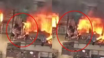 一家3口陷火窟!勇母肉身擋火…4歲女眼前燒死