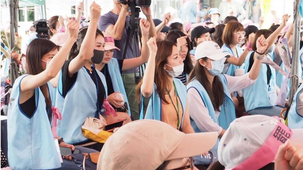 全力準備內部投票 長榮台北晚會喊卡
