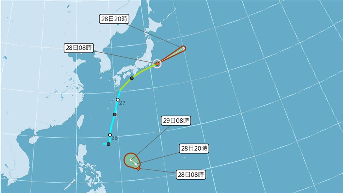 預估侵台颱風3至5個 氣象局給答案了