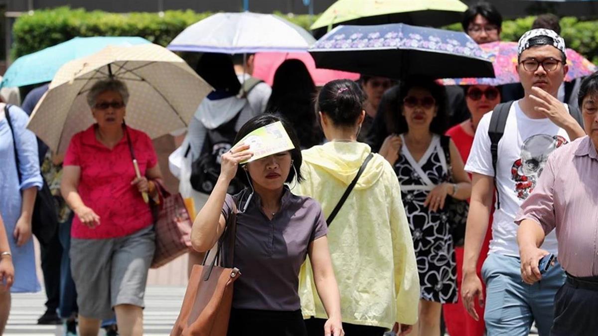 5縣市高溫上看36度!各地防午後雷陣雨