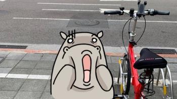 離開10分鐘!腳踏車慘剩這顆 她傻眼:該報警嗎