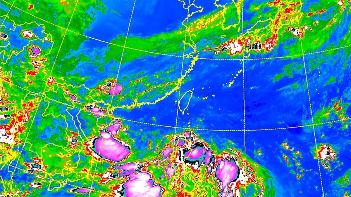 熱低壓醞釀!是否形成颱風?專家給答案了