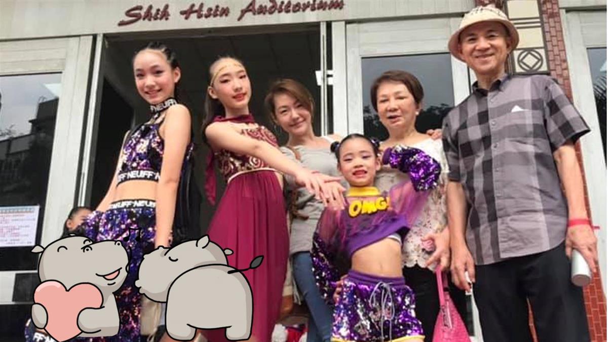 小S報喜奪冠!曬女兒們大長腿 網驚:贏過林志玲