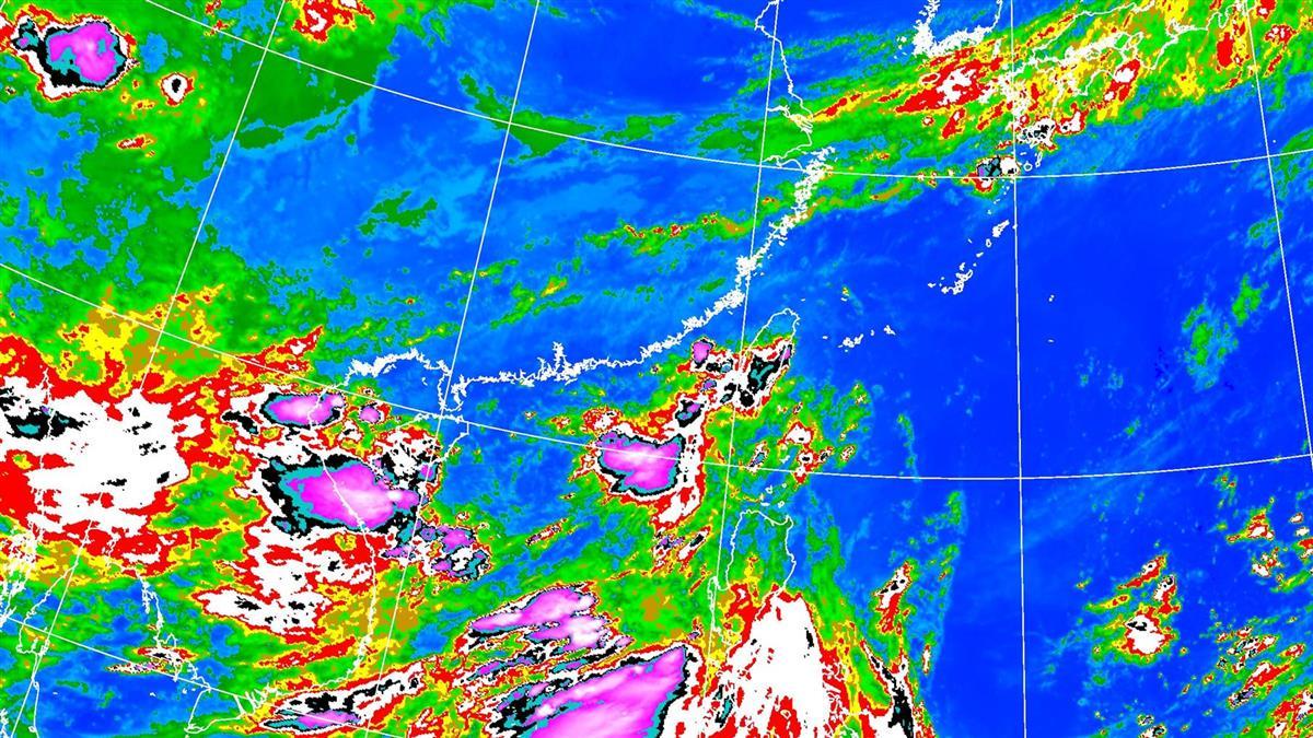 雨襲全台!新生成熱低壓…恐發展輕度颱風