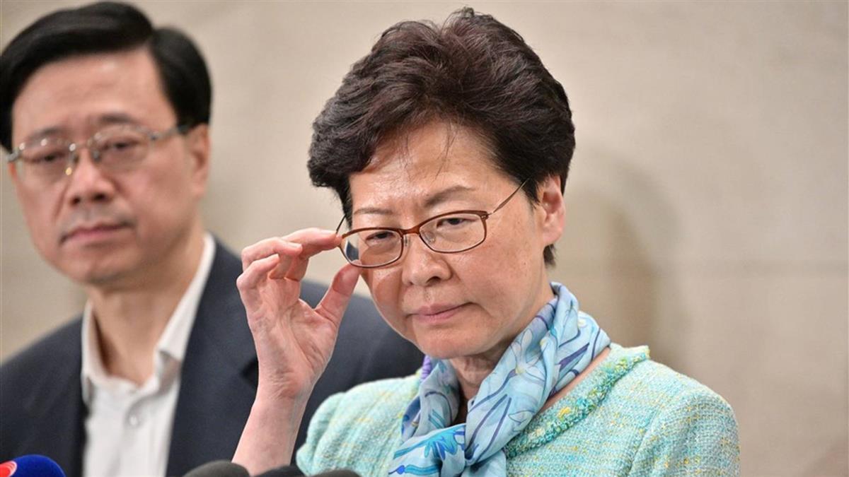 香港太陽花!林鄭月娥譴責示威民眾:極端暴力