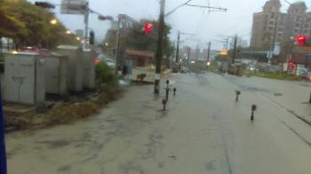 豪雨襲來!台鐵水淹軌道 桃園至鶯歌雙線不通