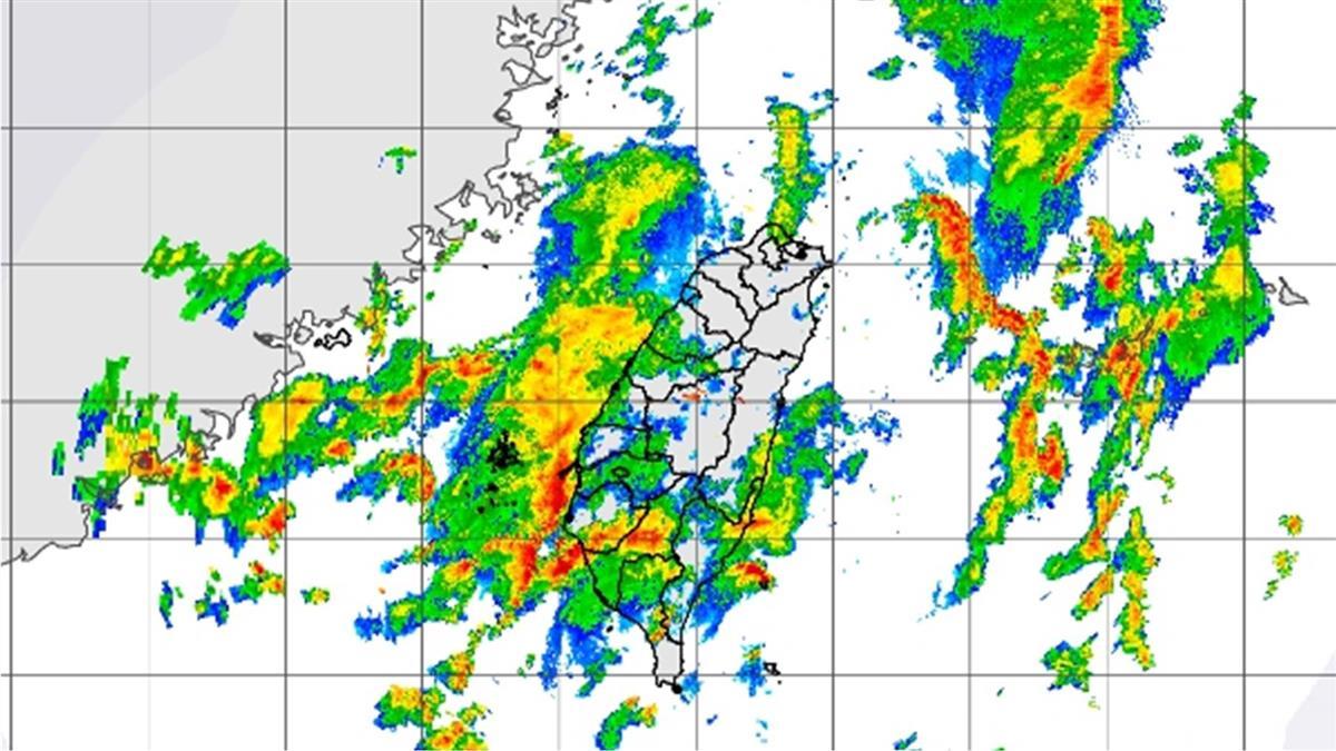 全台防劇烈天氣!中南部豪大雨 北部大雷雨