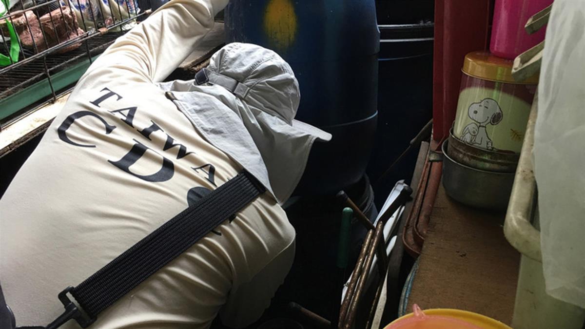 台南出現第4例登革熱 2歲幼童染病