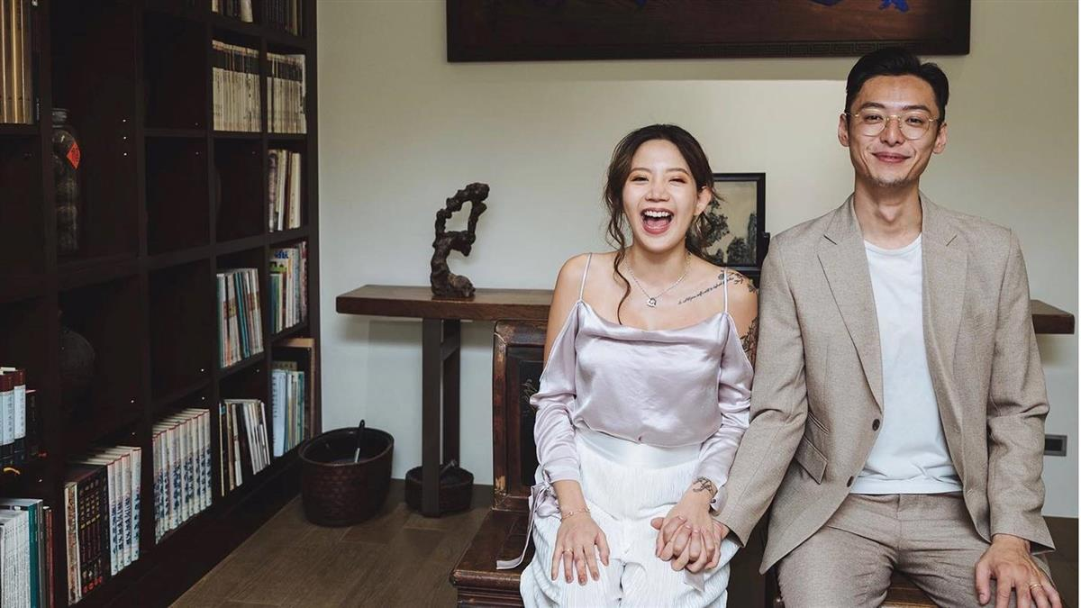 快訊/陳艾琳挺5月肚完成訂婚! 婚期曝光了