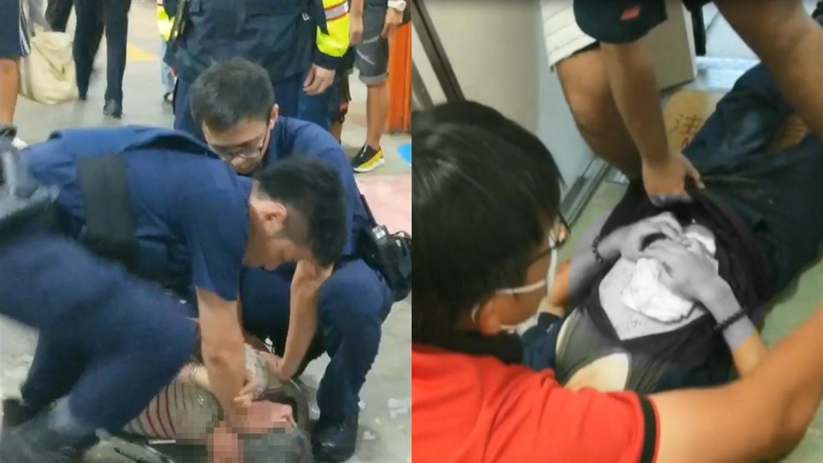 警遭猛砍臟器外露…地板全血!韓國瑜心痛回應