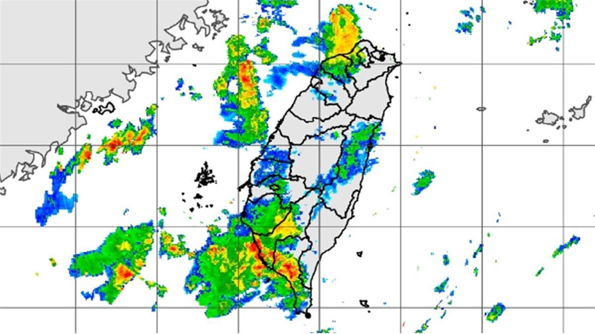 雨再下6天!白天悶熱 中南部防大雨