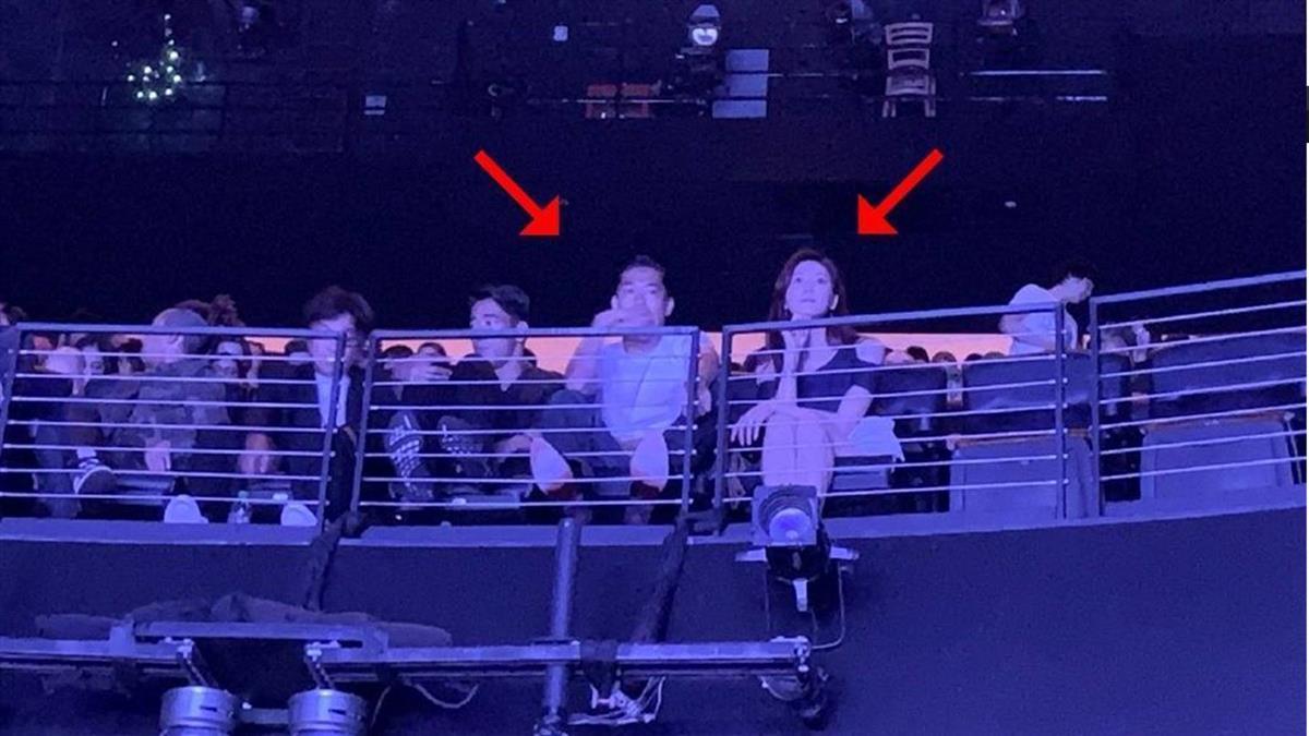閃婚後首同框!林志玲、Akira零偽裝看演唱會