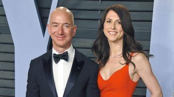 仍是首富!貝佐斯離婚財產縮水 妻分逾兆元