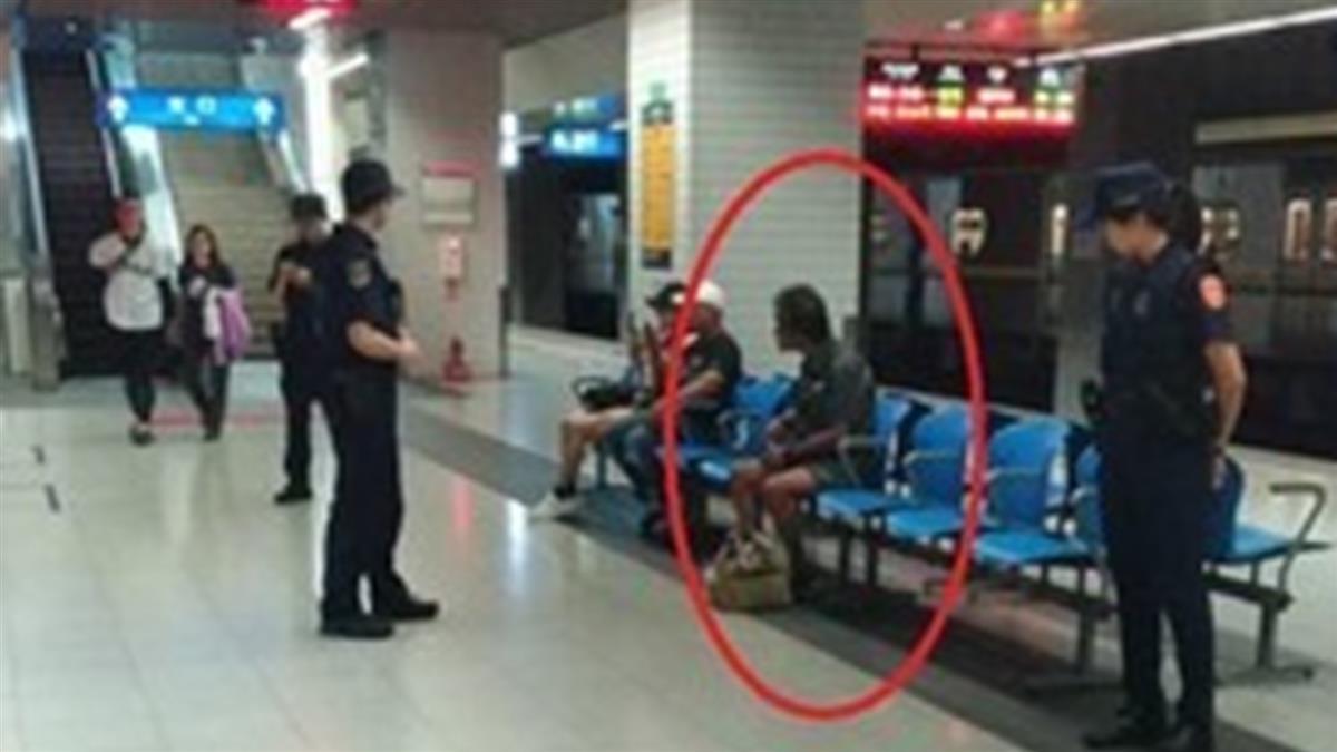 松山車站傳男子逃票咆哮 4武裝警上車秒包圍