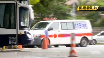 救護車遭擋爆衝突!貨車態度強勢…拒讓