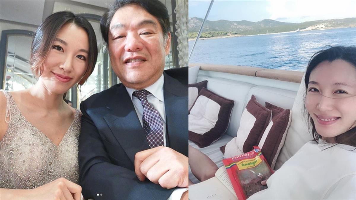 老婆女兒同歲!百億富豪娶了她 全家合照曝光