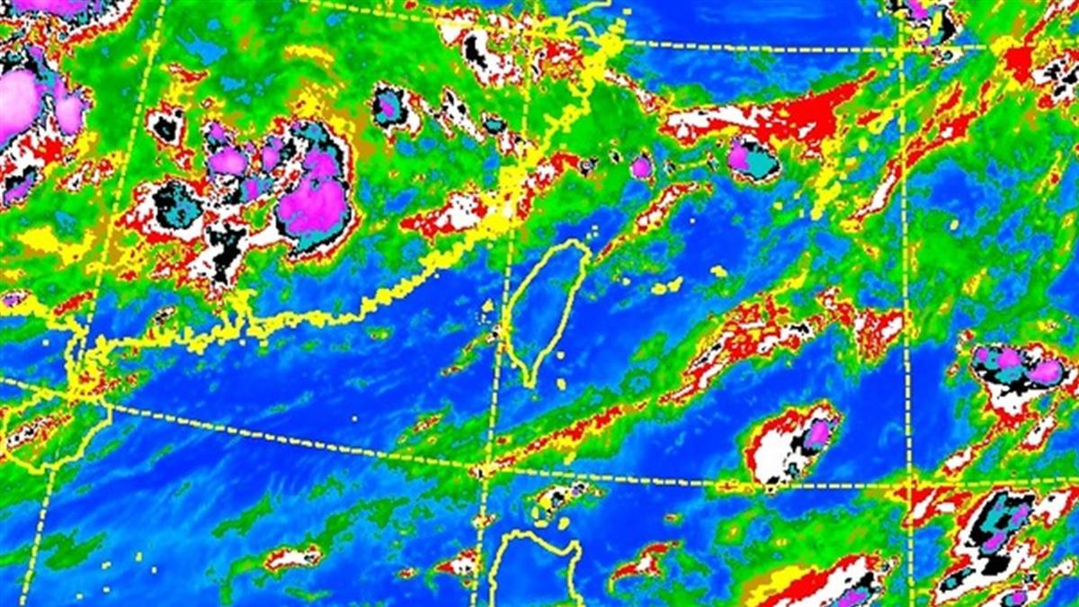 中南部時晴時雨!花東、大台北防高溫36度