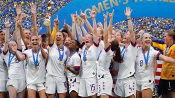 女足世界盃冠軍戰 美國2:0擊敗荷蘭奪2連霸