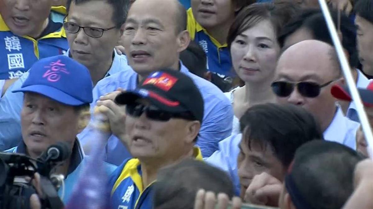 韓國瑜網路聲量奪冠 好感度卻輸郭台銘