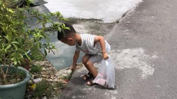 兒子吵架…媽處罰撿垃圾 1.8萬網喊學起來