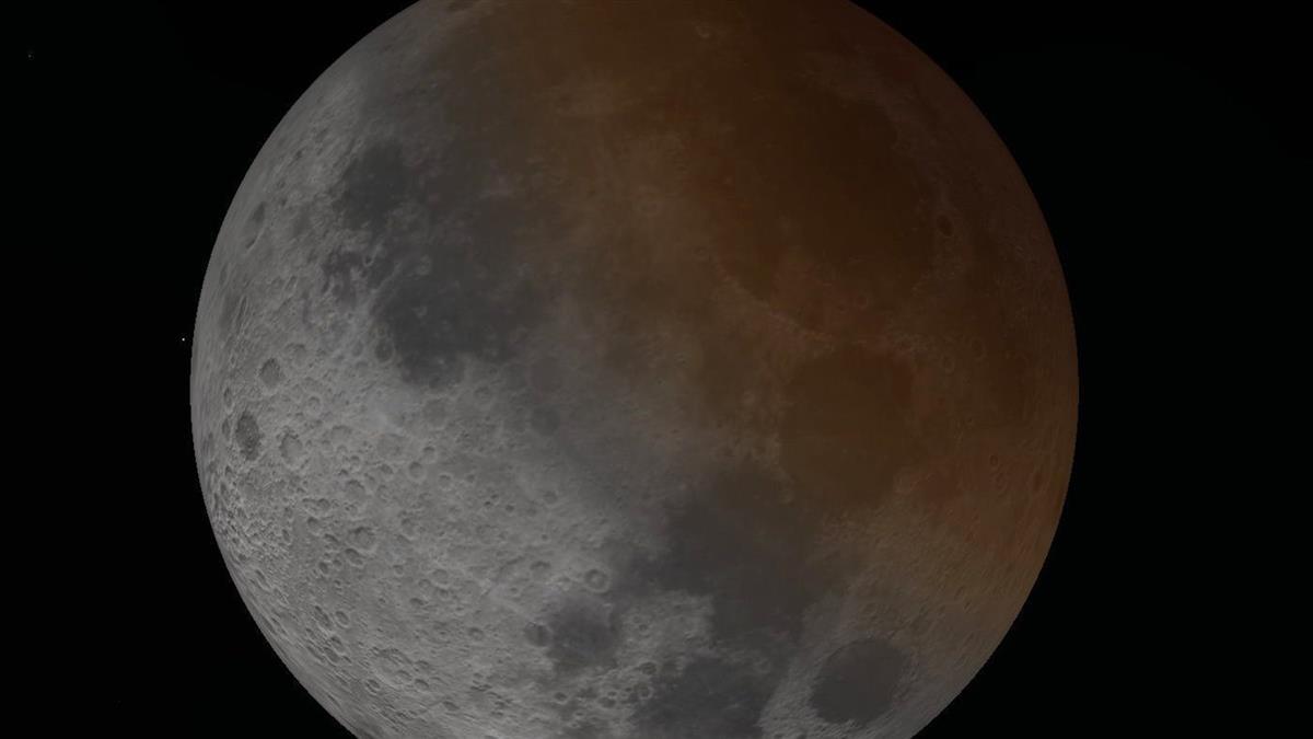 錯過再等2年!7/17「半個紅月亮」奇景登場
