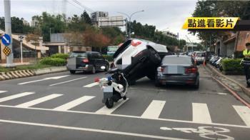 白色VOLVO「騎」上BMW 老婆老公下場超慘