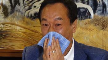 黨內初選膠著 郭台銘受訪時感慨落淚