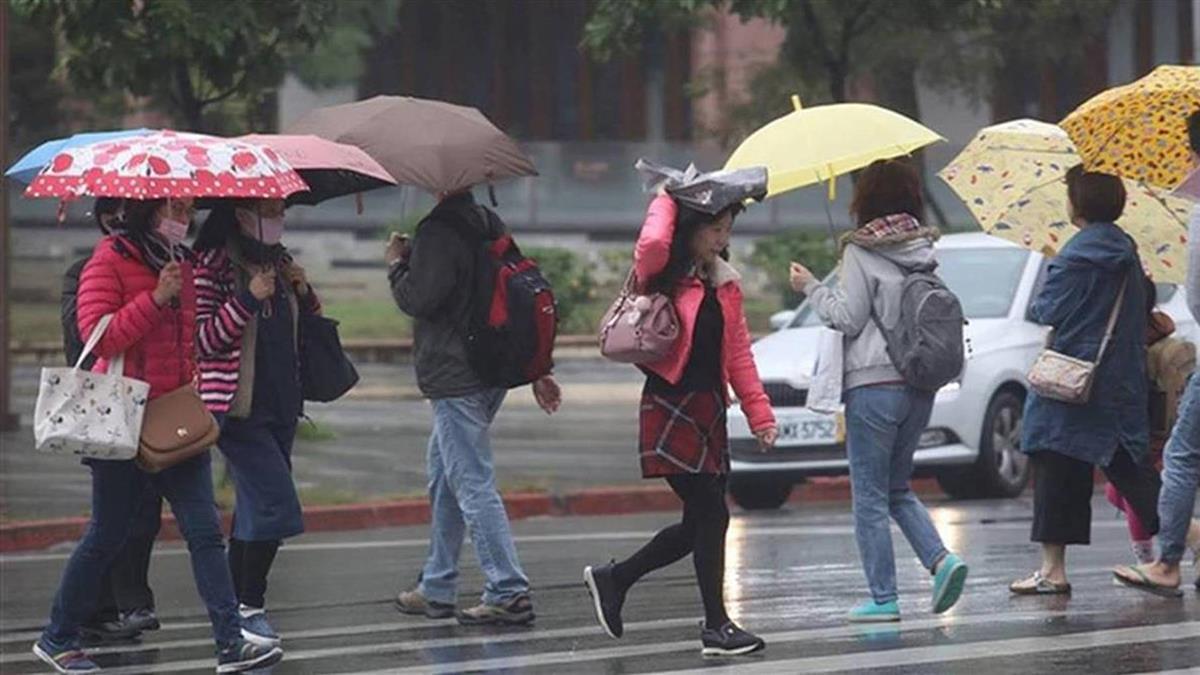對流雲系發展旺盛 9縣市防豪雨大雨
