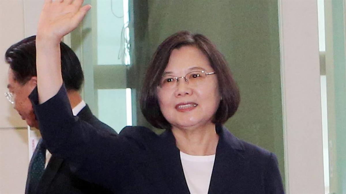 蔡總統出訪友邦  強調共享自由開放價值
