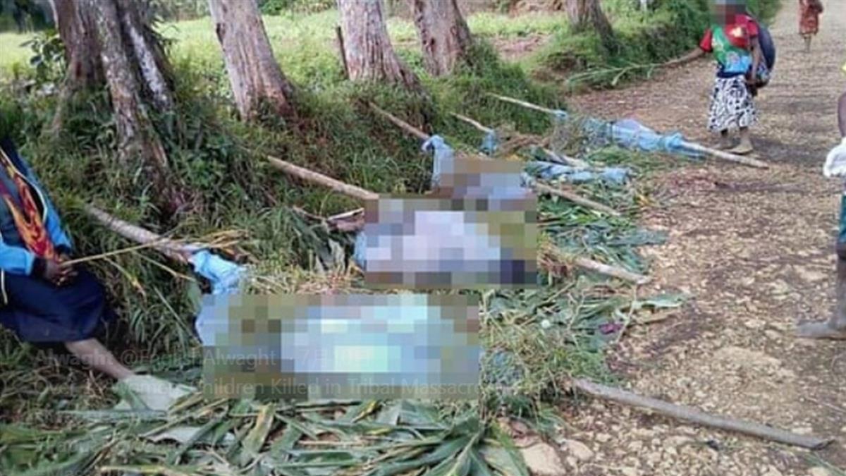 兩村爭金礦!這村清晨遭突襲 2孕婦8童被屠殺