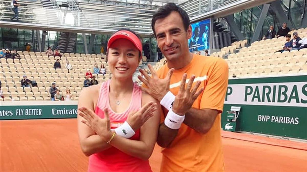 詹詠然溫網混雙 擊敗地主選手晉級4強