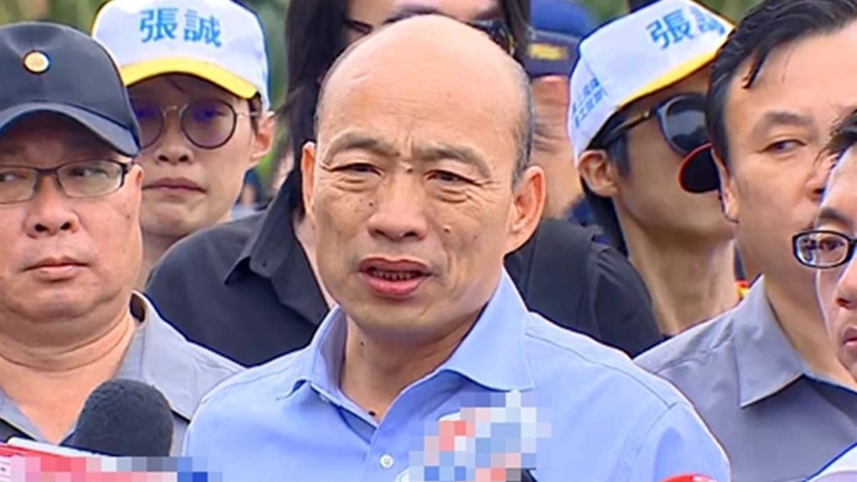 韓國瑜為迎初選結果 放鳥黑米祭?族人:莊孝維