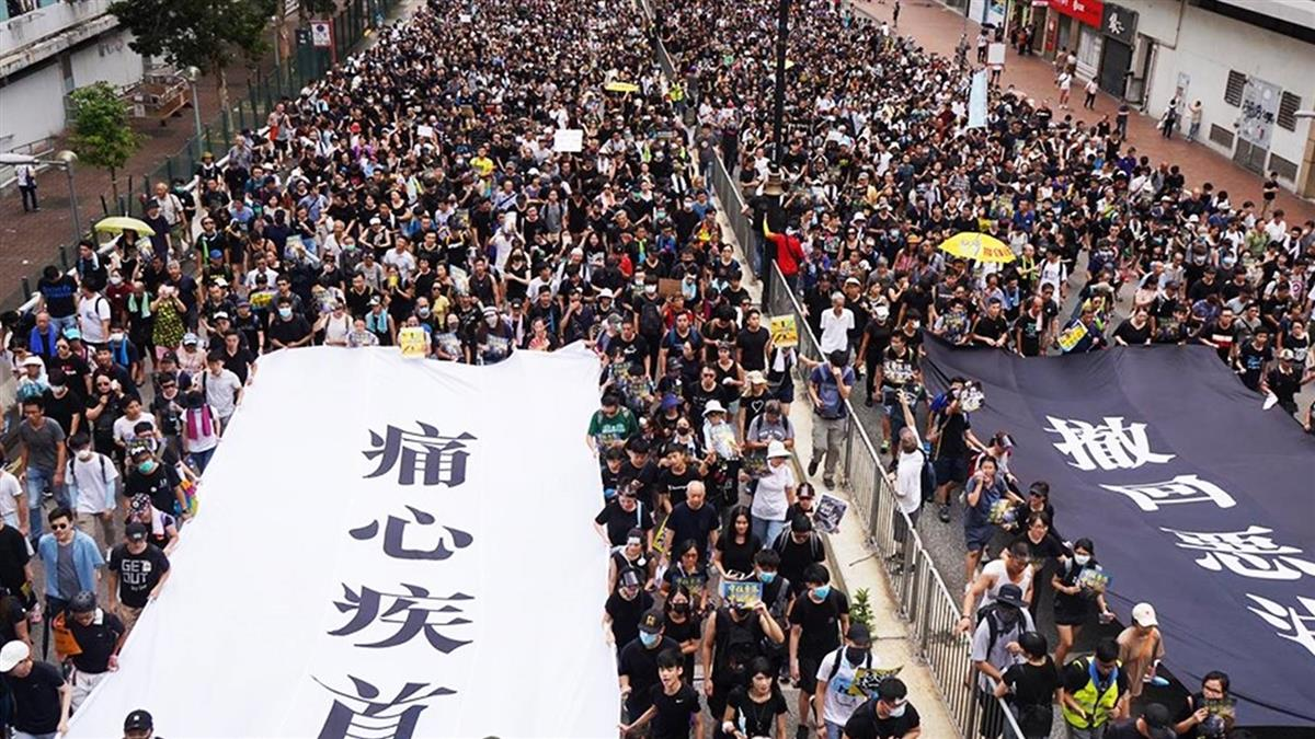 直播 / 香港週週反送中 沙田遊行爆零星衝突