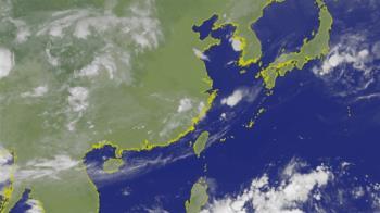 熱低壓生成!第五號颱風丹娜絲 模擬路徑曝