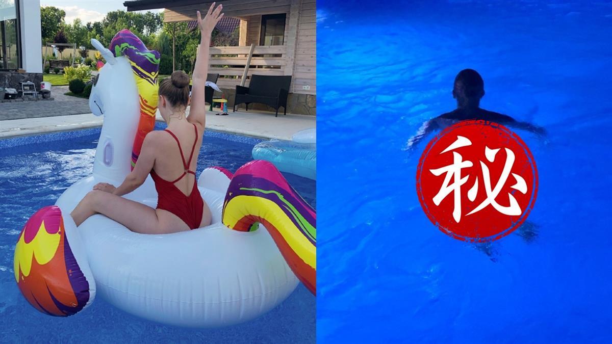 魯蛇逆襲娶辣妻…閨蜜在家游泳 網驚:是裸泳
