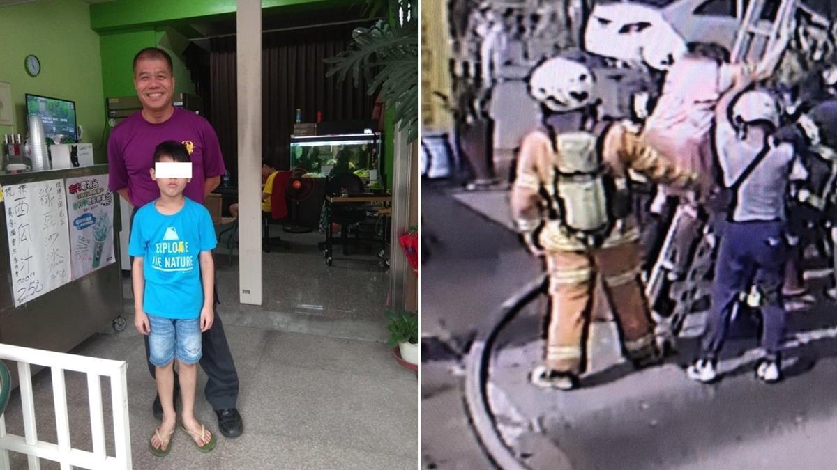 桃消防員火警救男童脫困 8年前親手接生