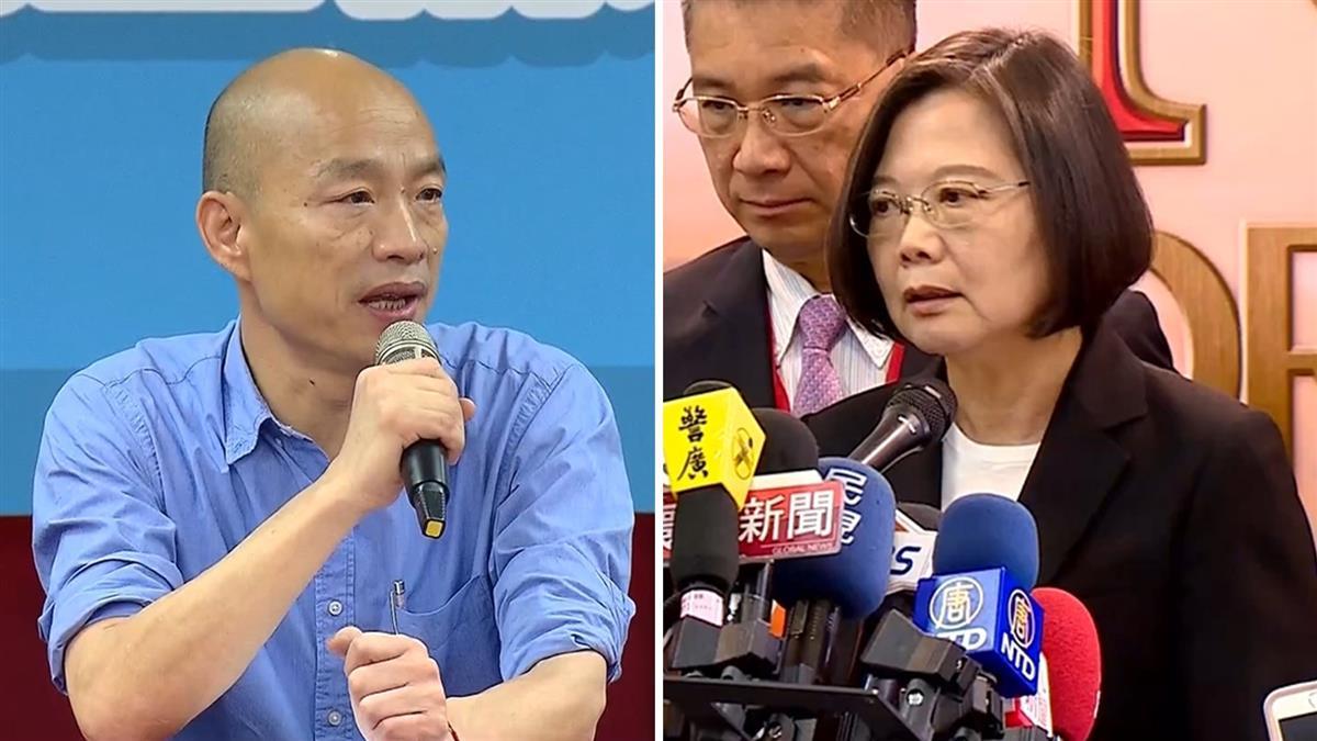 蔡韓對決!33萬網友模擬投票 結果驚呆